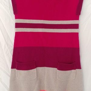 Crazy 8 sweater dress with front pockets